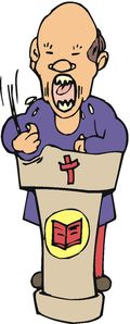 PreacherAngry